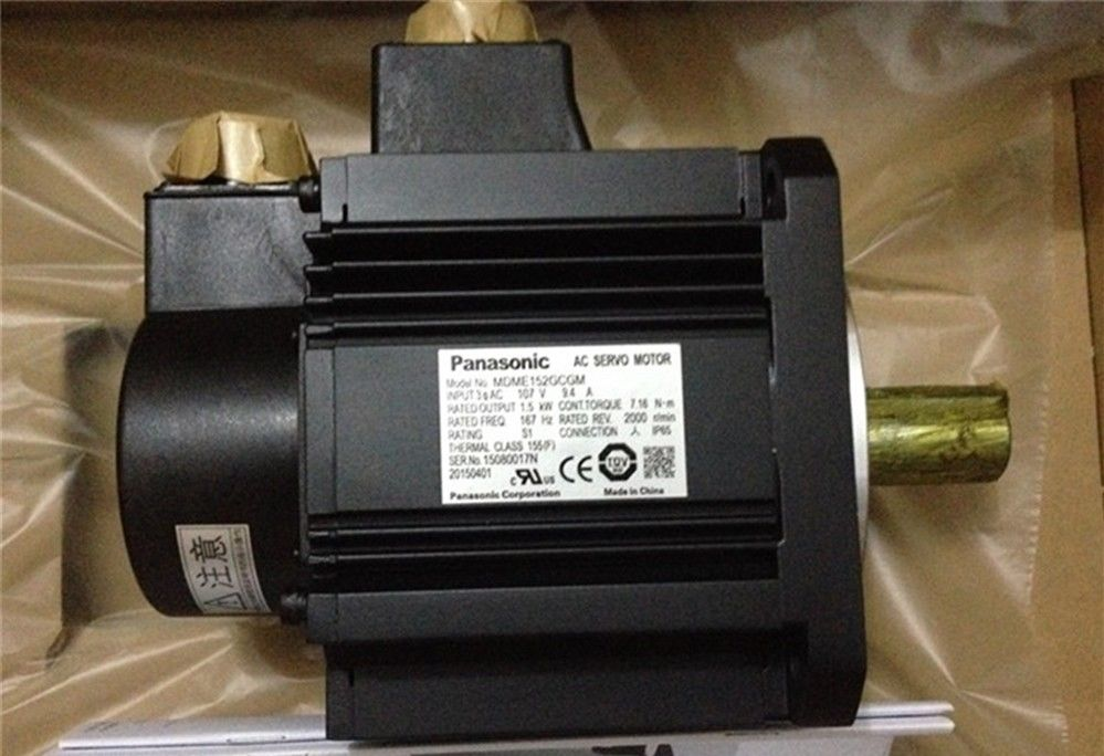 100% NEW Panasonic AC servo motor MDME152GCGM in box