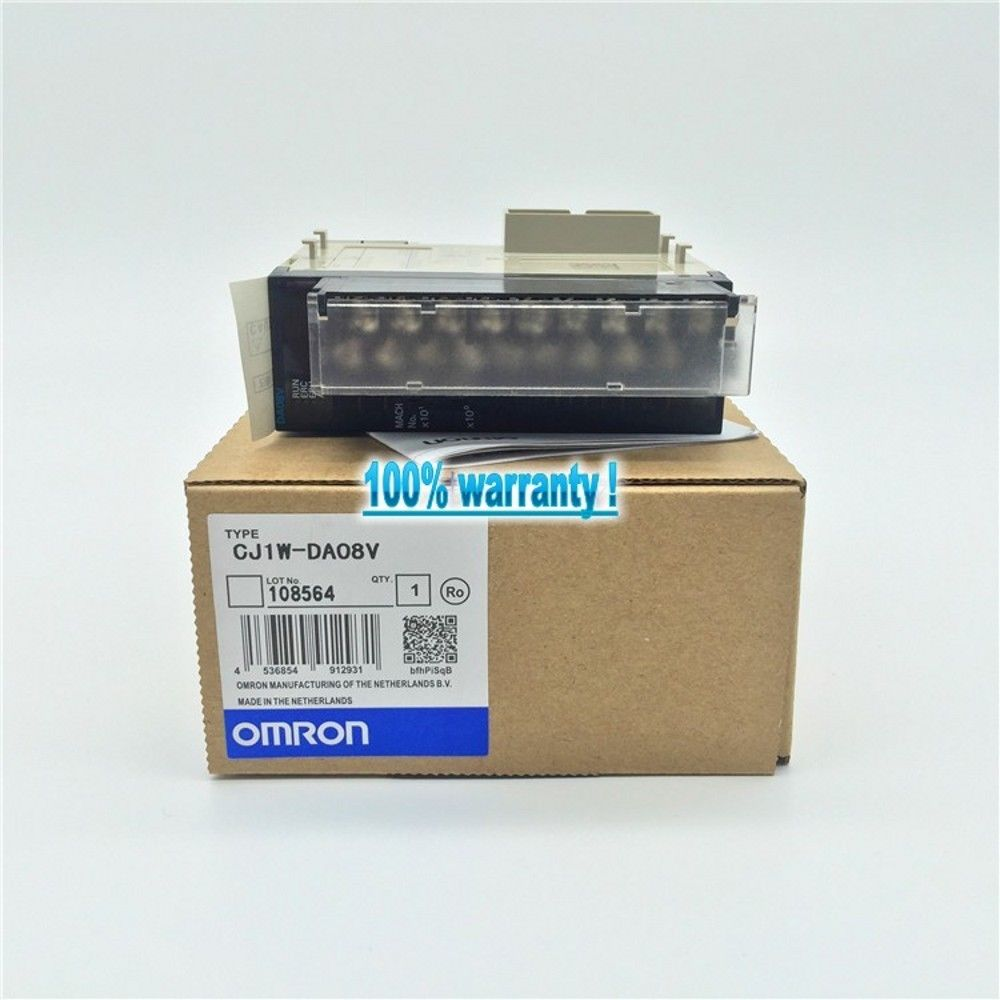 100% NEW OMRON MODULE CJ1W-DA08V IN BOX CJ1WDA08V
