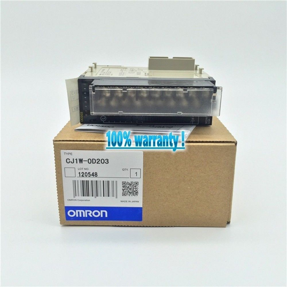 100% NEW OMRON PLC CJ1W-OD203 IN BOX CJ1WOD203