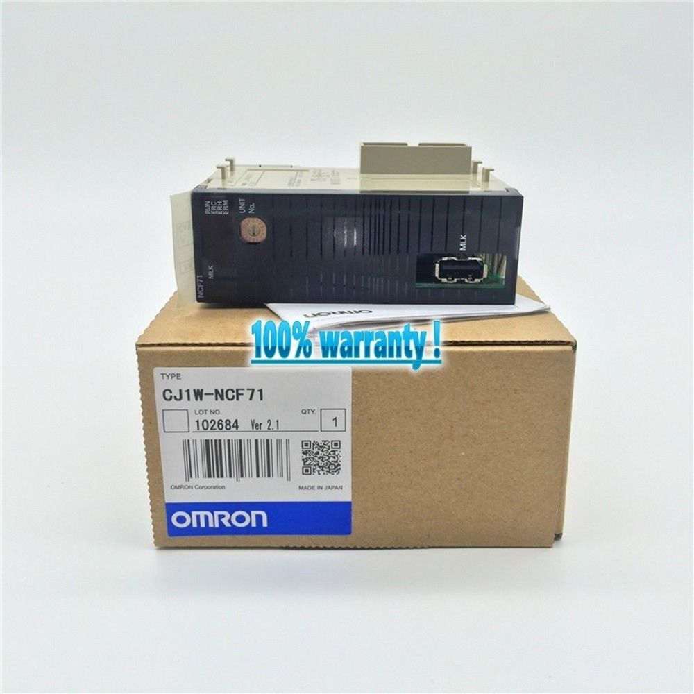 100% NEW OMRON PLC CJ1W-NCF71 IN BOX CJ1WNCF71