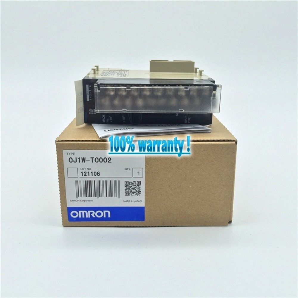 100% NEW OMRON PLC CJ1W-TC002 IN BOX CJ1WTC002