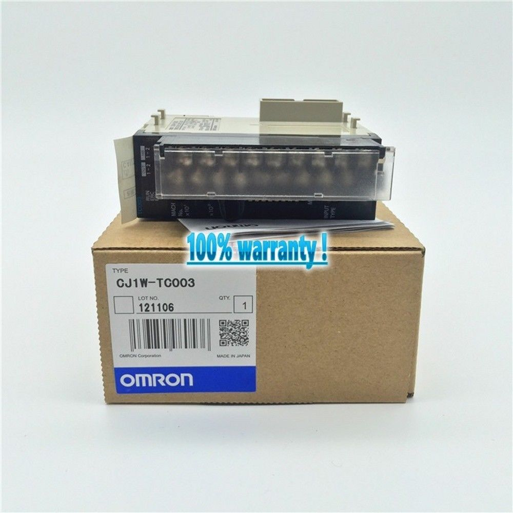 100% NEW OMRON PLC CJ1W-TC003 IN BOX CJ1WTC003